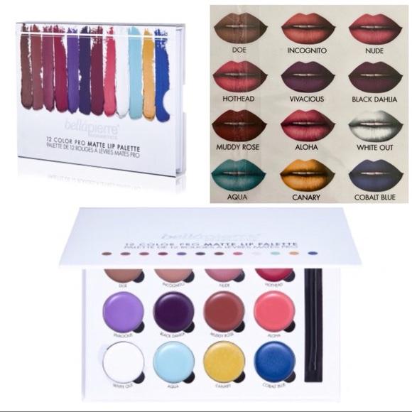 12 Color Pro Lip Palette by Bellapierre #12